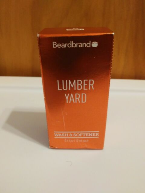 Beardbrand Lumber Yard Wash & Softener Beard Wash 0.4oz