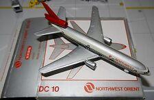 Schabak 1:600 Scale Diecast 902-37 Northwest Orient Airlines NWA Douglas DC-10