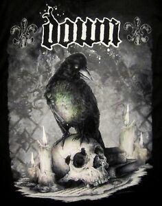 DOWN-cd-lgo-JUMBO-CROW-SKULL-Official-SHIRT-XL-New-pantera-Diary-of-a-Mad-band