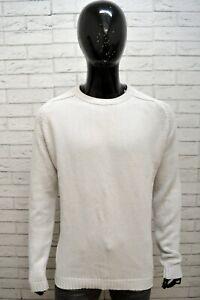 Maglione-Uomo-LEVI-039-S-Taglia-XL-Cardigan-Maglia-Pullover-Slim-Felpa-Sweater-Man