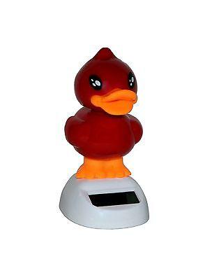 Qualifiziert 5 Solar Wackelente Wackelfigur Ente Rot Solarfigur Geschenk Auto Deko Büro Duck Einfach Und Leicht Zu Handhaben