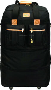 30-034-Expandable-Rolling-Duffel-Bag-Wheeled-Spinner-Suitcase-Luggage-Heavy-Duty