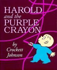 Harold and the Purple Crayon by Crockett Johnson (1958, Hardcover)