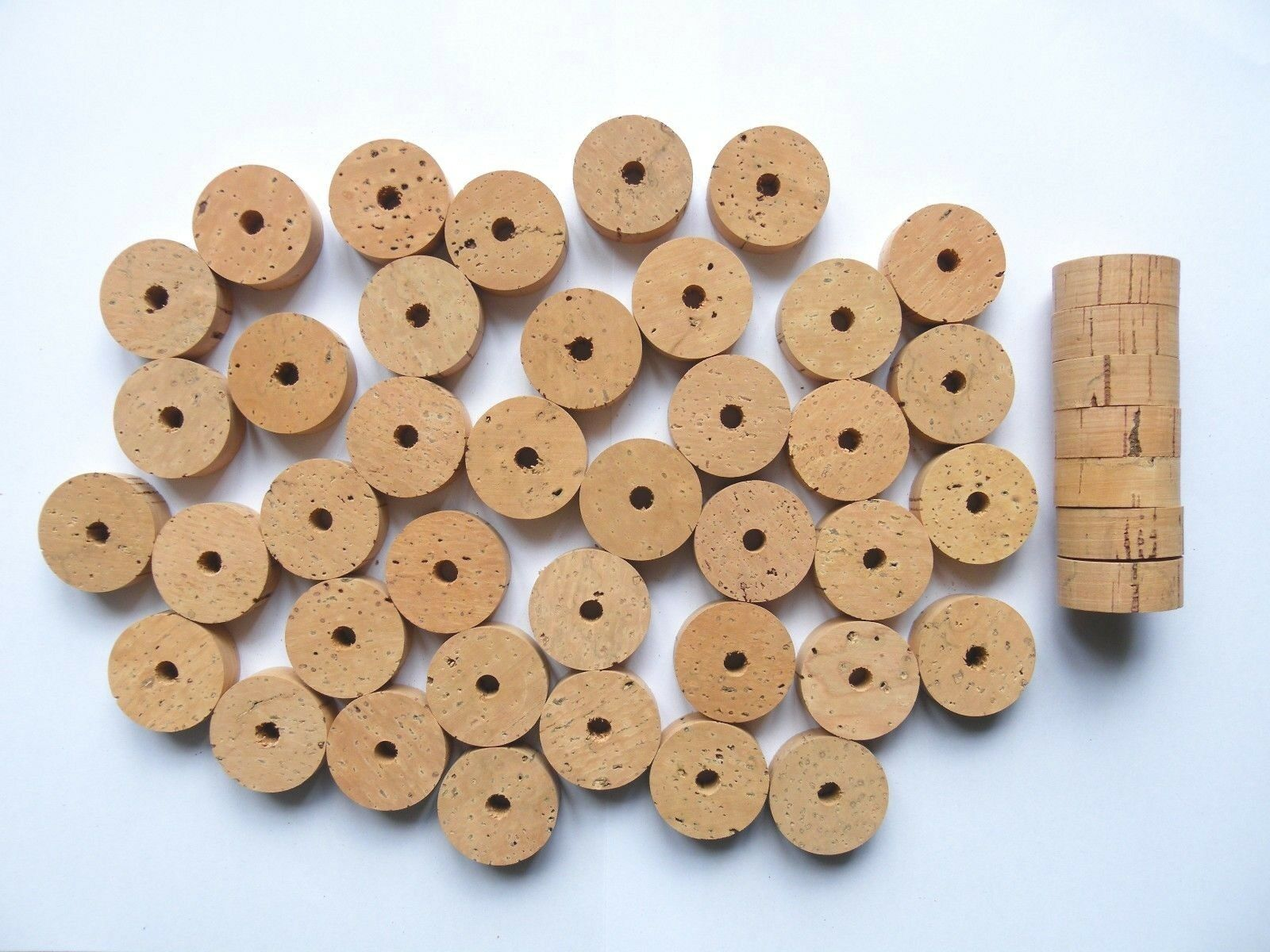 50 CORK  RINGS 11 4 X1 2  GRADE EXTRA BORE 1 4  ---- Free ship  buy best