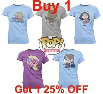 Buy 1 Get 1 25/% OFF Funko Pop Tees Women T-Shirts Women/'s Add 2 to Cart