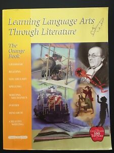 The-Orange-Book-Learning-Language-Arts-Through-Literature-by-Debbie-Strayer-NEW