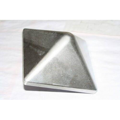 pyramide avec épine Meneau capuchon en aluminium 130x130mm capuchon pour poteau 12x12 CM