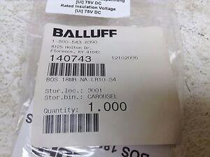 BALLUFF BOS00CT BLE18KW-PA-1LT-S4-C BLE18KWPA1LTS4C NEW !