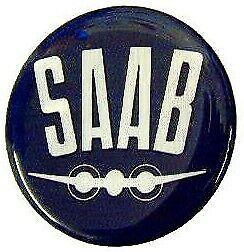 96 99 9000 900 Cabrio SAAB 28mm BADGE-volante o gearknob