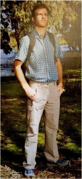 Hot Sportwear Herren Stretch Outdoor Trekking Trousers Bengt Sand Regular Fit