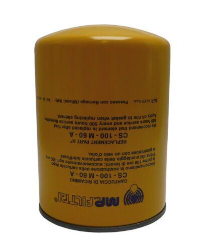 Cs-100-m60-a mp filtri spin-on cartucho de filtro Filtro tubería en-line strainer