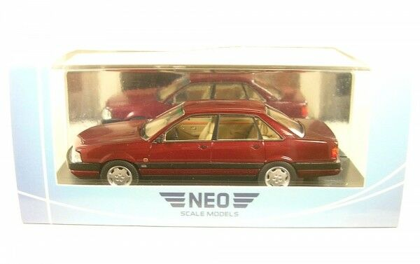 AUDI 200 QUATTRO 20V ( rosso scuro metallico) 1990