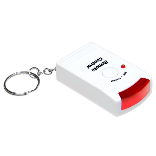 IR Fernbedienung für Alarmanlage Alarm Sensor Sirene Bewegungsmelder Alarmsystem