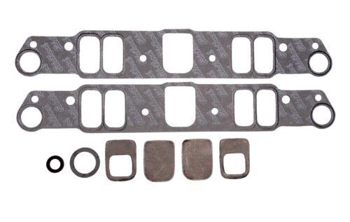 "Edelbrock 7280 Intake Manifold Gaskets Pontiac 326-455 1.18/"" x 2.20/"" Port"