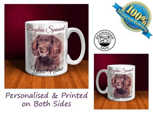 Boykin Spaniel Personalised Ceramic Mug D052 Perfect Gift.