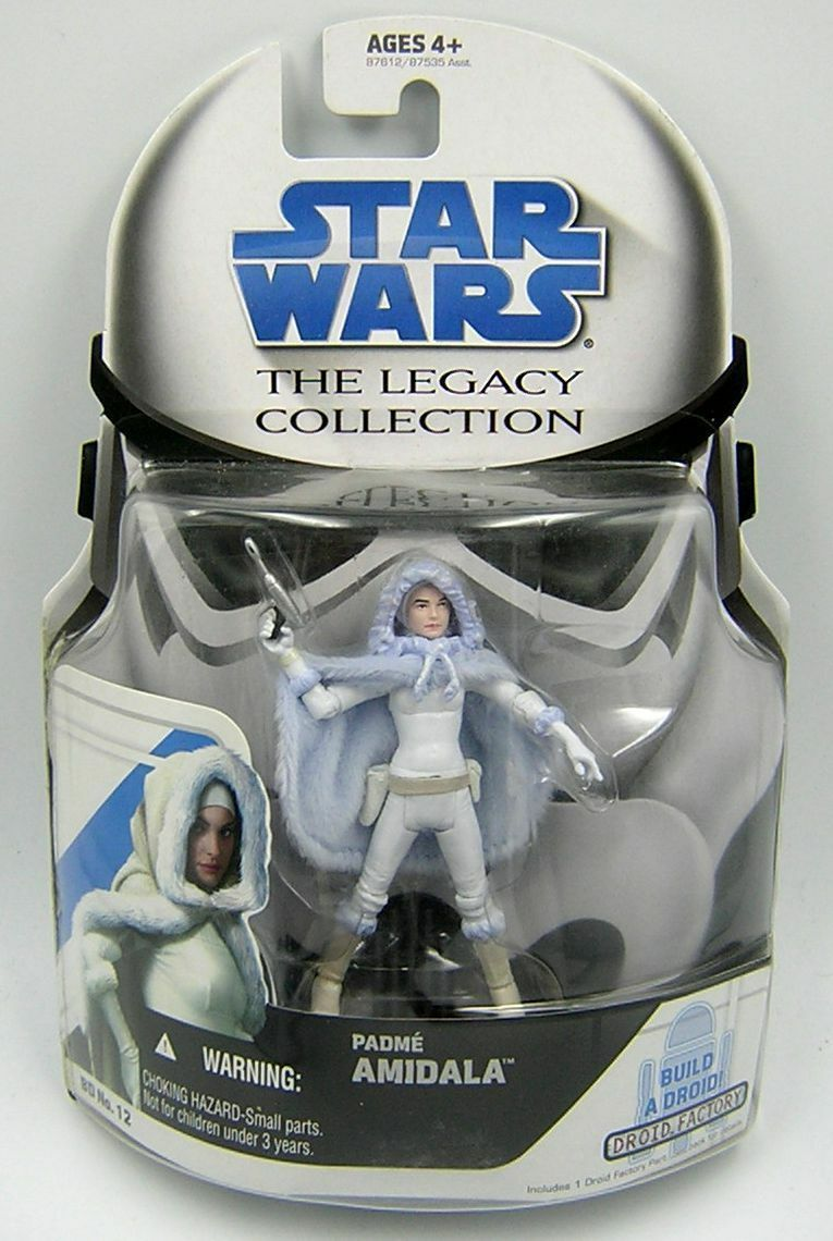 Star Wars Legacy Collection BD12 Padme Amidala Snow Outfit