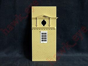 Plasticville Independence Hall Tower Piece with Window O-S Scale