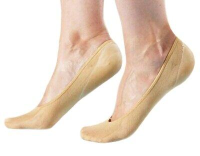 1 Paar Füßlinge Mit Gelpolster Ballerinas Gel Kappen Gel Socken Gel Footsie Klar Und GroßArtig In Der Art