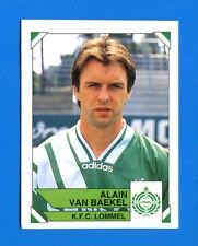FOOTBALL 95 BELGIO Panini -Figurina-Sticker n. 230 - VAN BAEKEL - LOMMEL -New
