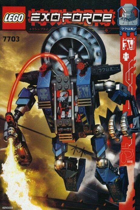 Neu Lego Exo-Force  7703 Feuer Vultue Neu Ovp Mech Mech Mech ee4d00