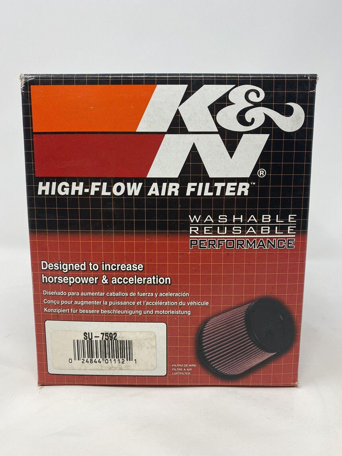 knSU-7592 K/&N 87-06 for Suzuki GSX600//750//1100 Katana Replacement Air Filter