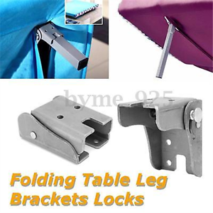 Lots diy folding extension table leg bracket fitting lock foldable image is loading lots diy folding extension table leg bracket fitting watchthetrailerfo