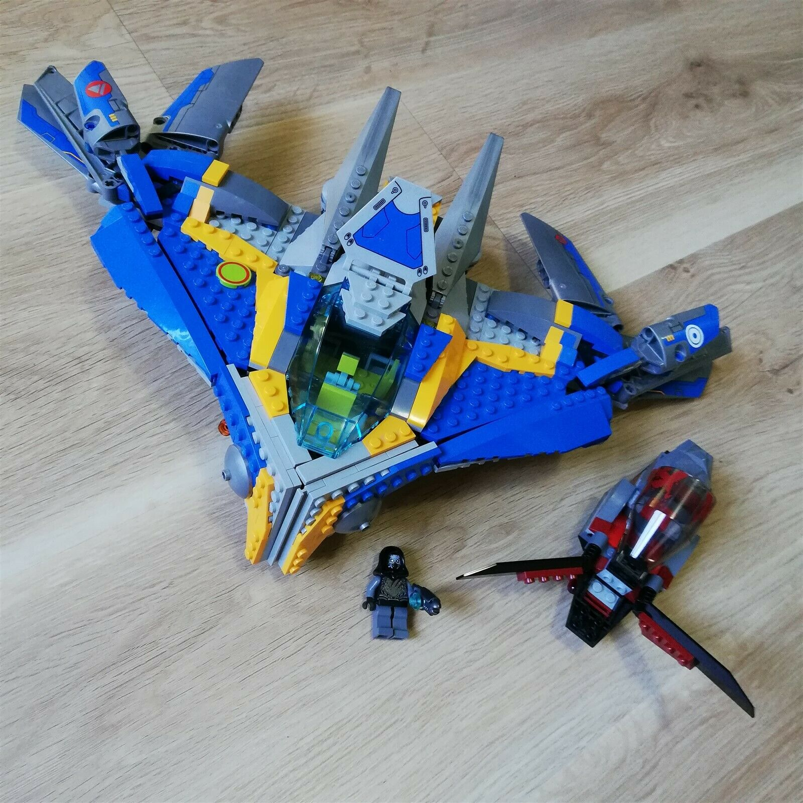 LEGO - Super Heroes - The Milano Spaceship Rescue Building - 76021 Like ny