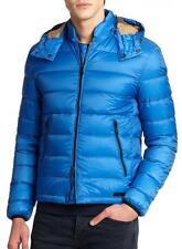 BURBERRY BRIT mens MITCHSON lightweight down jacket SMALL Blue NWT