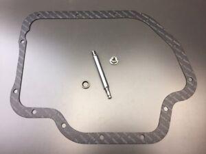 700R4 Transmission Manual Shift Lever Shaft Linkage Seal Lock Nut /& Gasket NEW