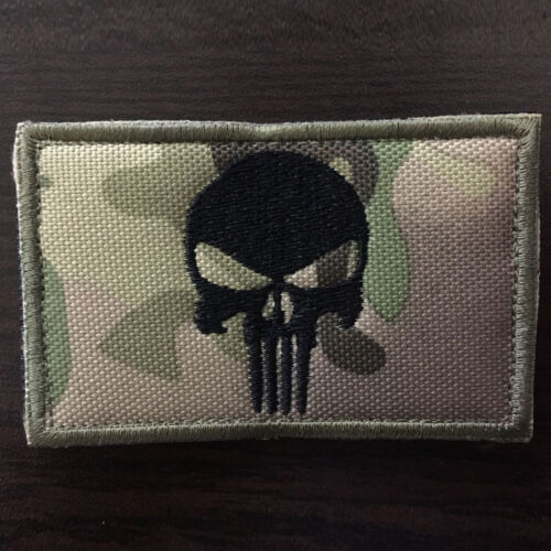 Punisher Skull USA Military Army Tactical Morale Combat Emblem Badge Patch CP