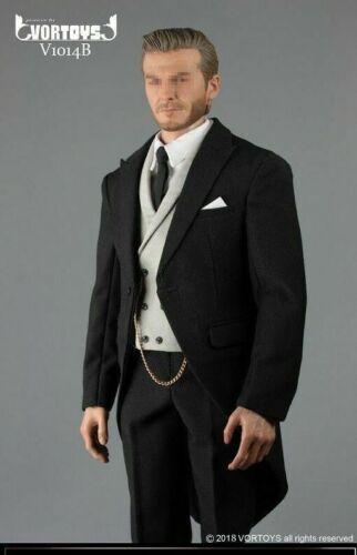 "1//6 Gentleman British Royal Tuxedo Suit Set For 12/"" Hot Toys Worldbox Figure USA"