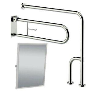 Stuetzgriff-Handgriff-Klappgriff-Stuetzhilfe-Toilettengriff-WC-Bad-Aufstehhilfe