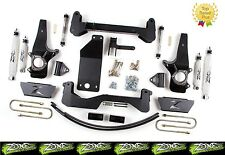 """1997-2003 Ford F150 6"""" Zone Offroad Suspension Lift kit 4x4 Top Rated F14"""