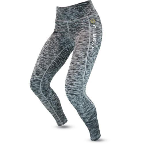 Womens Halo Crossfit Grey Fit Hybryd Shadow compressione Legging allenamento per fq51wpwx7n
