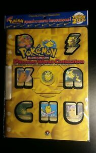 Sealed-Original-Pokemon-2000-Pikachu-World-Collection-Folder-Mint