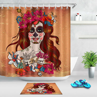Day Of The Dead Shower Curtain Set