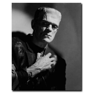 Bride of Frankenstein Elsa 12x15//24x30inch Horror Movie Silk Poster Cool Gifts