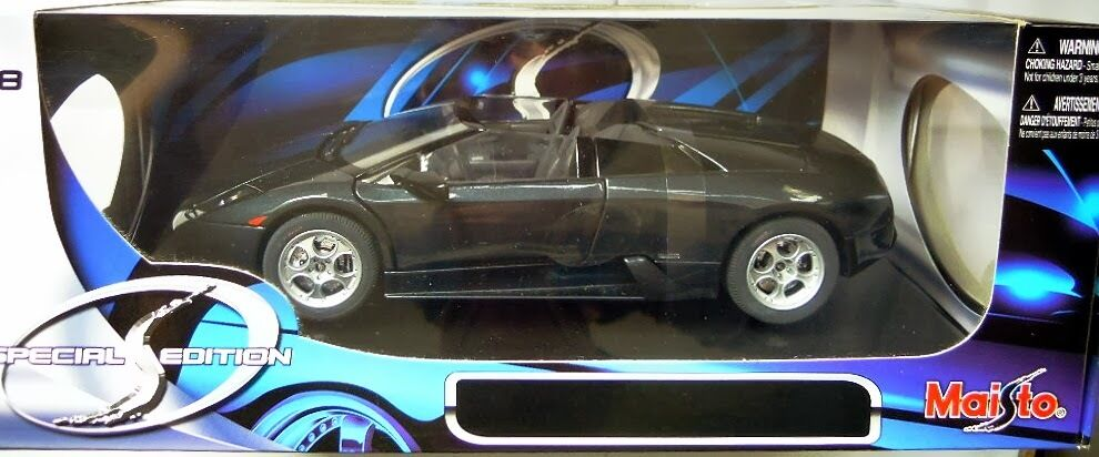 Maisto 31800  Lamborghini Murciélago Roadster, Diecast in 1 18, NEU & OVP