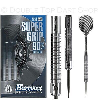 Harrows Supergrip 90% Tungsten Steel Tip Darts