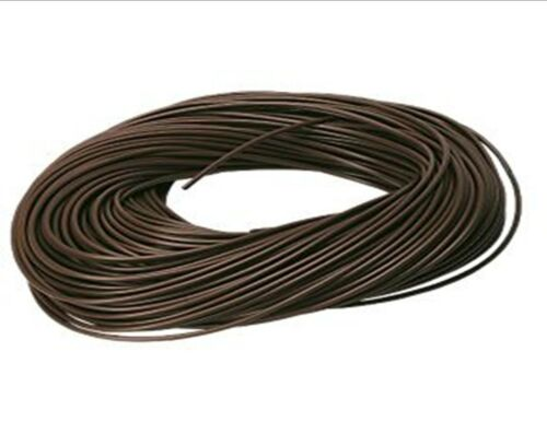 PVC BROWN SLEEVING ELECTRICAL SOCKET LIGHTS WIRE CABLE