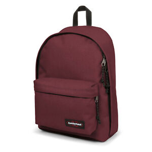 EASTPAK-Out-of-Office-Mens-amp-Womens-Laptop-Backpacks-27-Liter-RED-WINE