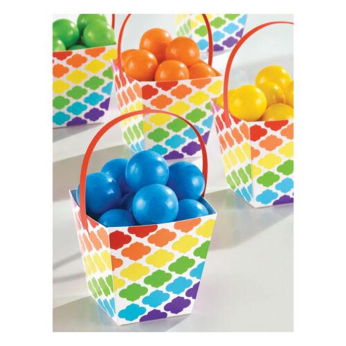 Rainbow Buffet Vajilla De Fiesta De Cumpleaños 1 C Globos /& Decoraciones Carteles