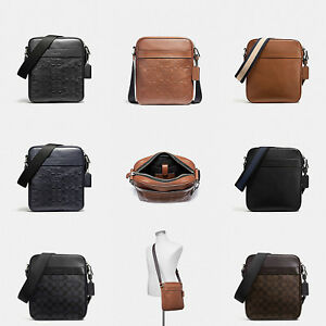 Image is loading COACH-MEN-039-S-CHARLES-FLIGHT-BAG-F59913- 87991dacf8980