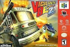 Vigilante 8: 2nd Offense Nintendo 64 N64 Game Only Ships Free+Tracking