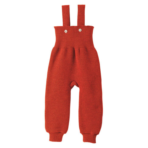 disana Baby Strick-Trägerhose Bio-Merinoschurwolle