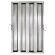 25 X 16 X 2 Stainless Steel Commercial Kitchen Exhaust Hood Grease Filter