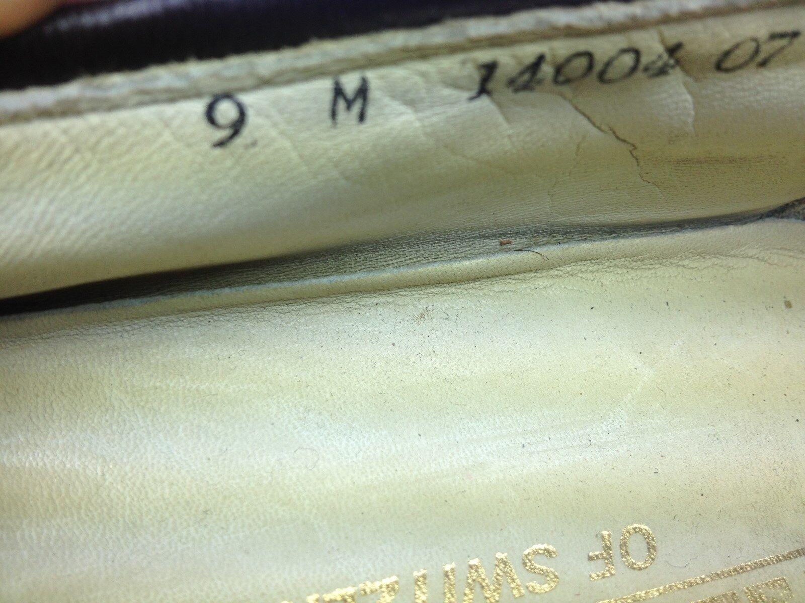BALLYS MADE IN SWITZERLAND braun SLIP ON TASSLED TASSLED TASSLED SLIP ON SUNDAY DRIVE schuhe 9 M 7ecc6d