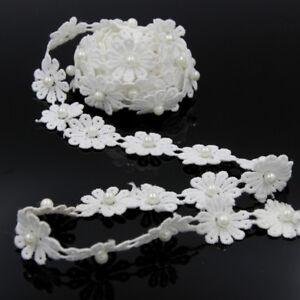 3-Yards-Vintage-Lace-Edge-Trim-Ribbon-Applique-DIY-Bridal-Wedding-Sewing-Crafts