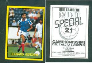 Bernard-GENGHINI-Francia-raro-problema-italiano-1988-CALCIO-NUOVO-GRANDE-CALCIO-N-16
