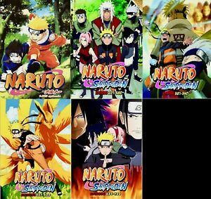 Details about Naruto (Episode 1 - 720 End) ~ 35-DVD SET ~ English Dubbed  Version ~ DHL USA